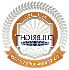 2016-17 Fulbright top producer badge